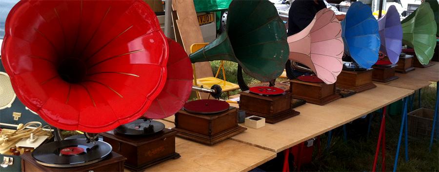 Brocanteur - Gramophones