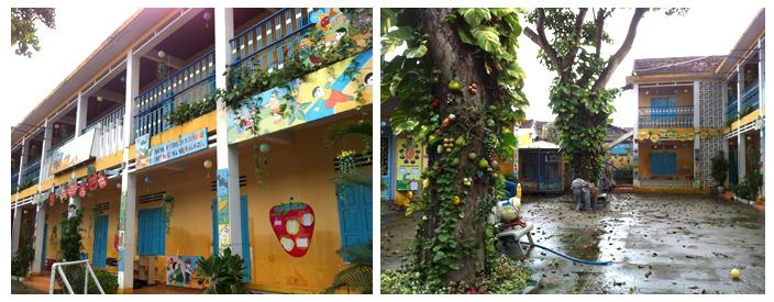 Ecole colorée à Hoi An