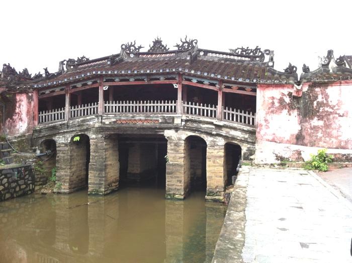 Le pont japonais - Vietnam : Hoi An