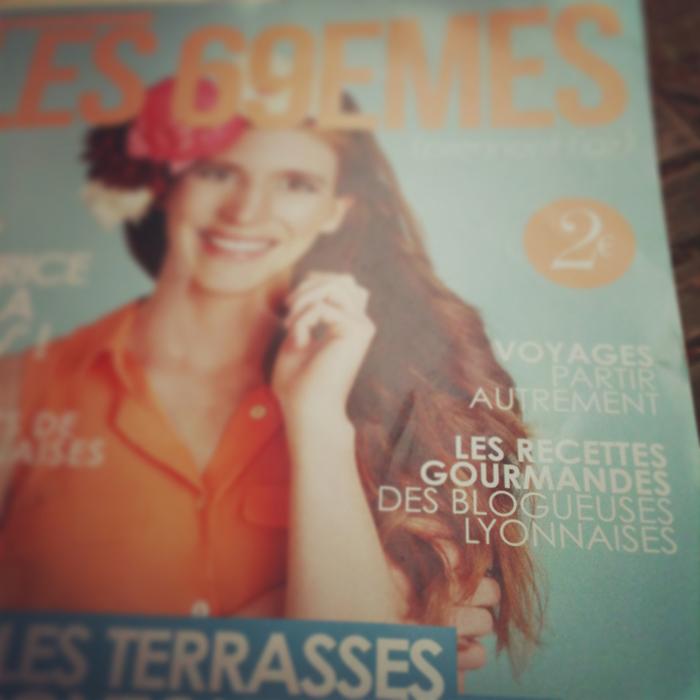 Ma recette dans le magazine féminin Les 69èmes