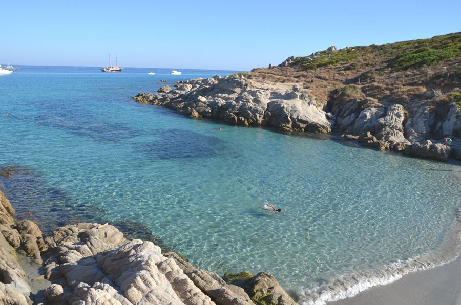 Côte d'Azur - Méditerranée - Crique de la douane à Ramatuelle