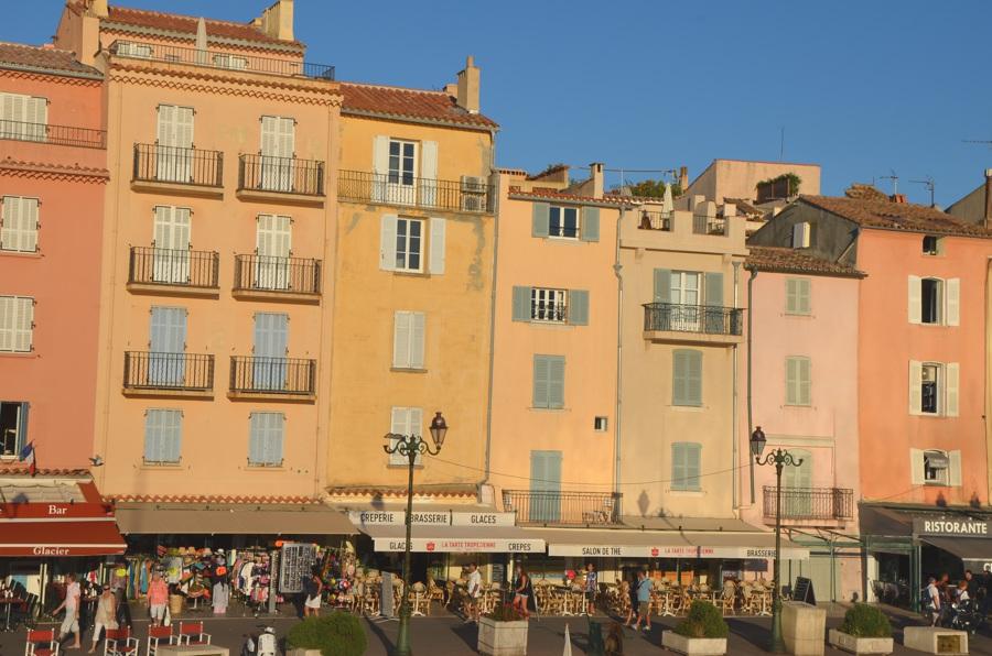 Côte d'Azur - Méditerranée - Le port de Saint-Tropez