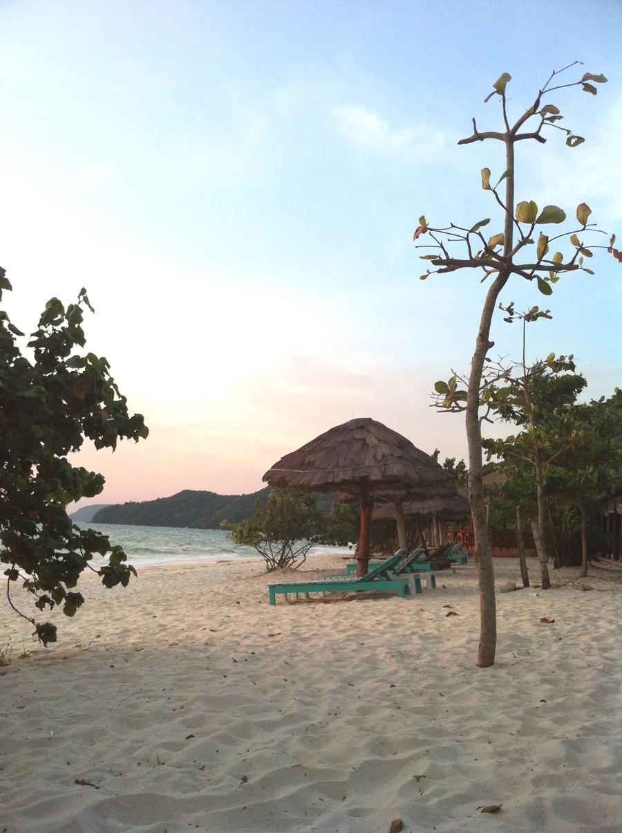Lever de soleil sur la plage de Bai Sau - Phu Quoc