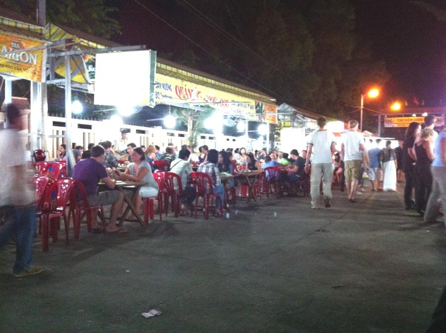 Marché de nuit à Duong Duong - Phu Quoc
