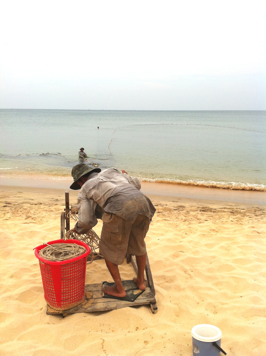 Long beach : session de pêche à Phu Quoc