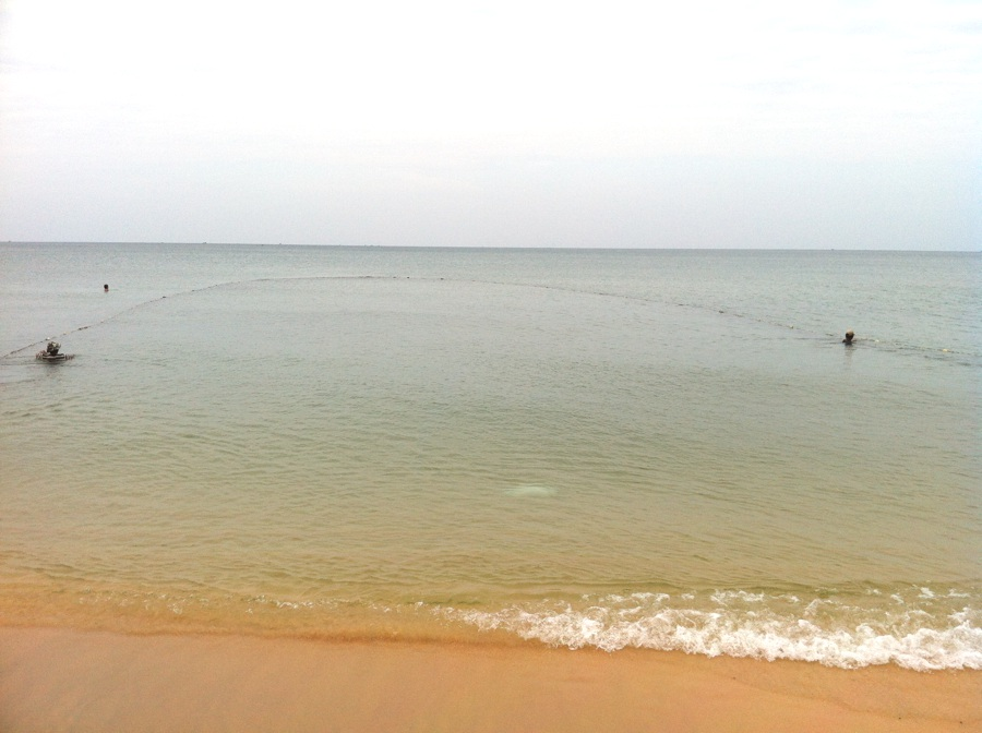 Long beach : session de pêche à Phu Quoc