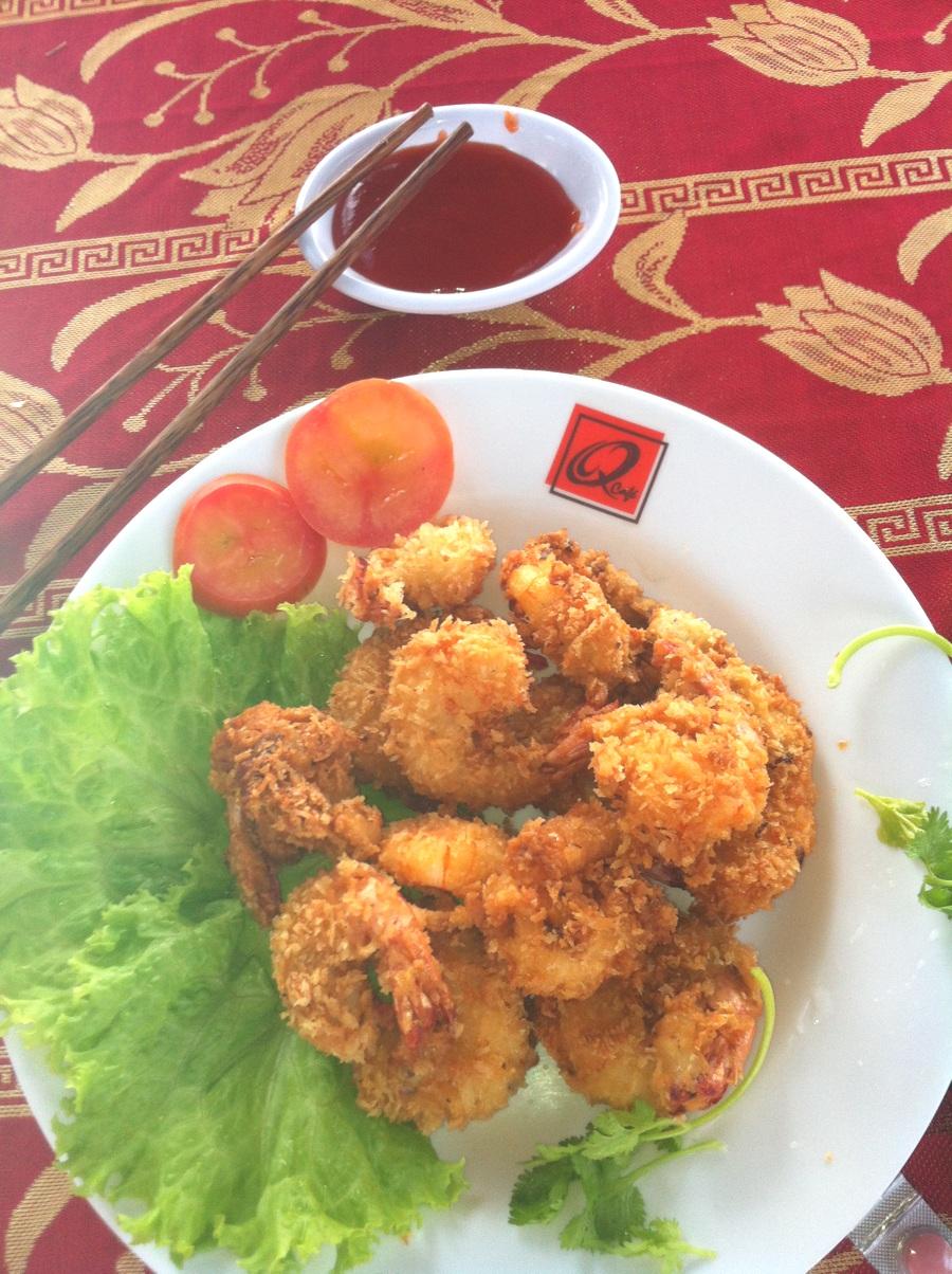 Beignets de crevettes - Cuisine vietnamienne