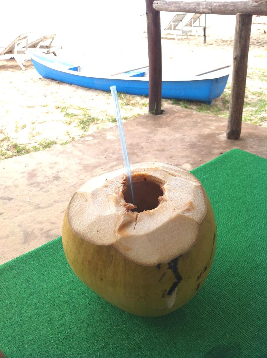 Phu Quoc : jus de noix de coco