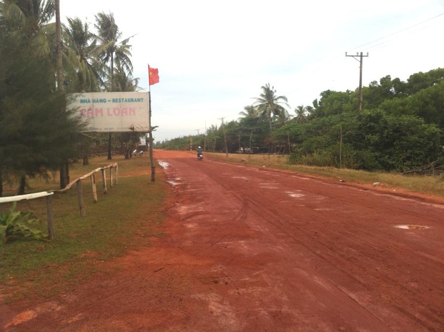 Les pistes rouges de Phu Quoc