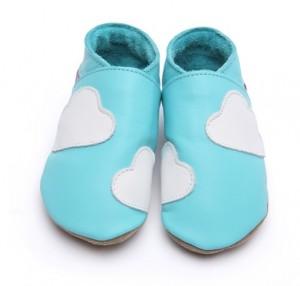 Chaussons bébé nuages