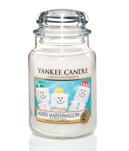 Bougie Yankee Candle Merry Marshmallow