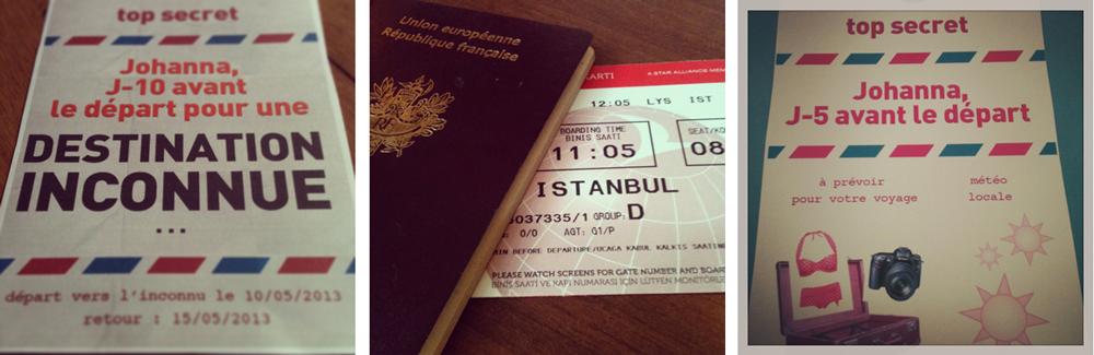 Voyage surprise à Istanbul