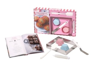 Coffret Cupcakes, brownies & co