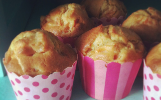 Recette muffins abricots