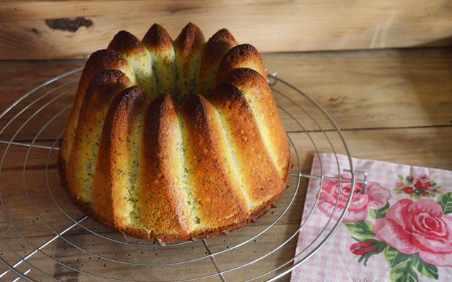 Recette : Bundt cake citron et pavot