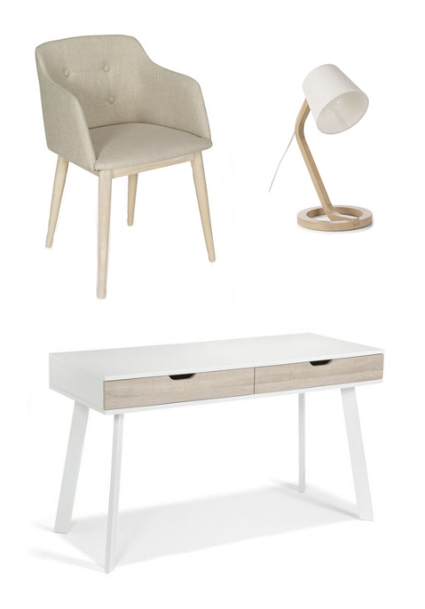 Ma s lection shopping d co chez alin a blog d co - Bureau scandinave alinea ...