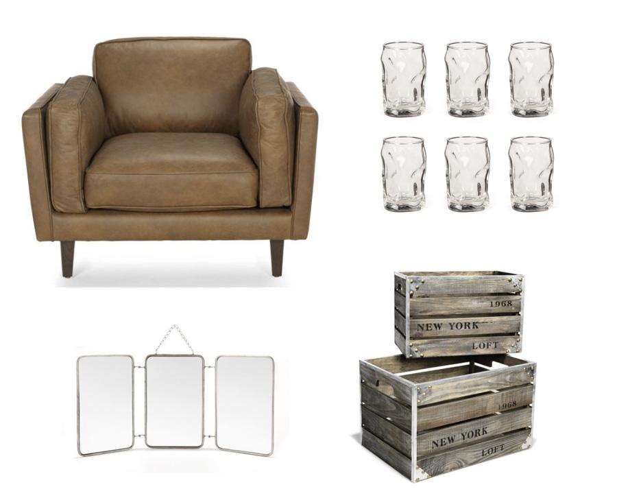 Déco meubles Alinéa pour l'homme