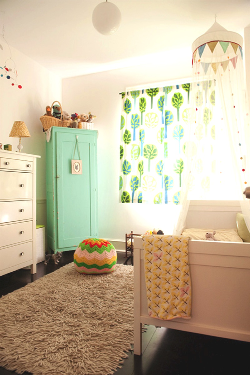 Decoration chambre bebe for Chambre de bb fille dcoration