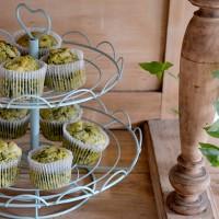 Muffins végétariens aux épinards