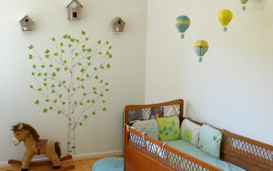 Déco chambre bébé : la chambre nature et poétique de Noah ...