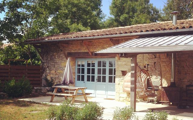 La maison de vacances à Saint-Antonin-Noble-Val