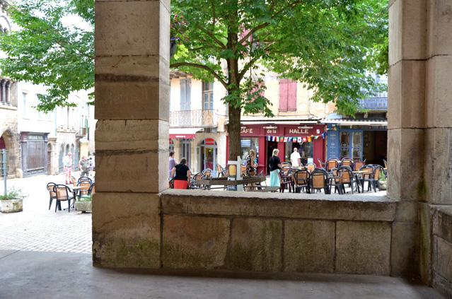 La halle de Saint-Antonin-Noble-Val