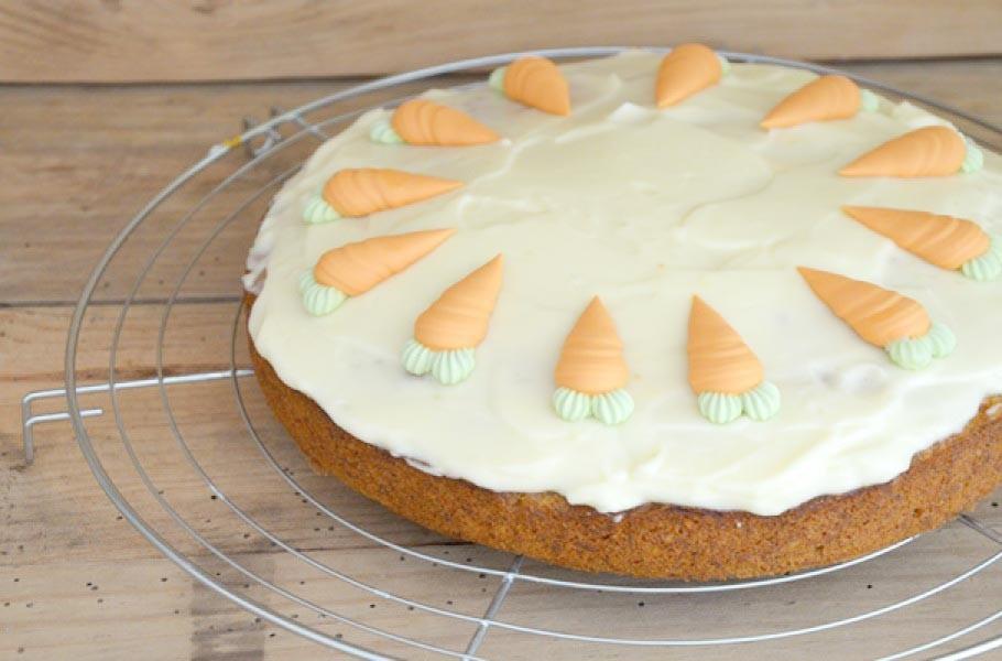 Carrot cake la recette de julie andrieu blog cuisine - Recette carrot cake americain ...