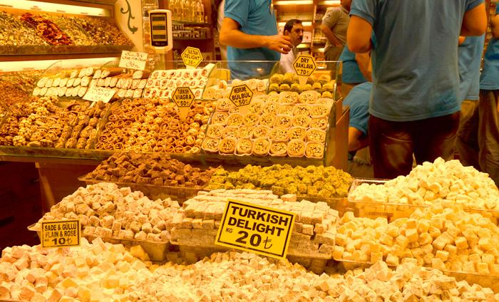 Le bazar égyptien à Istanbul