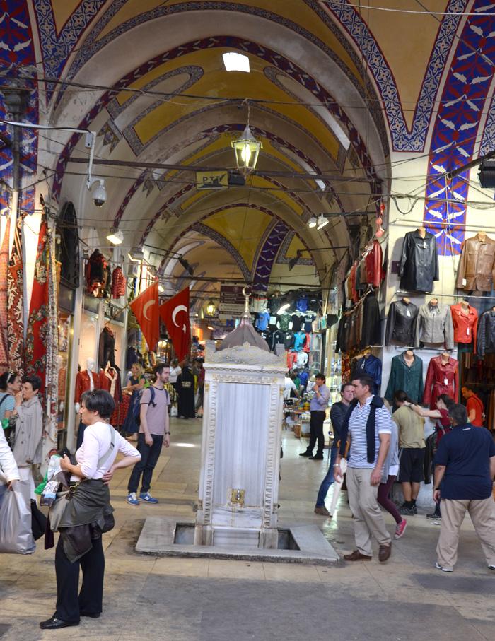 Le grand bazar à Istanbul