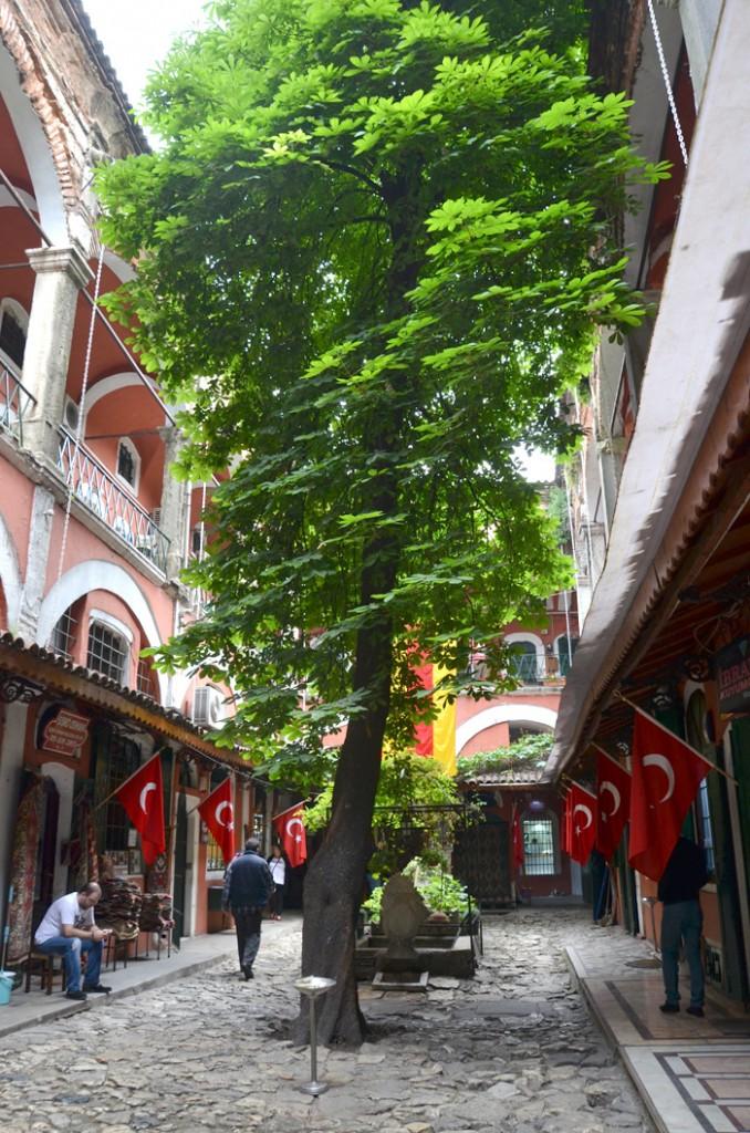 Caravansérail - Le grand bazar à Istanbul