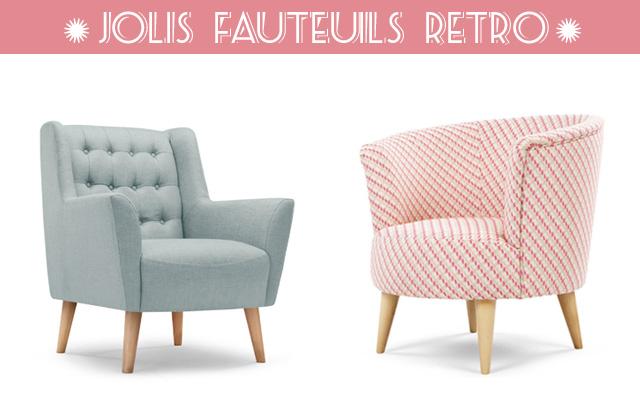 d co r tro les jolis fauteuils vintage de made blog d co. Black Bedroom Furniture Sets. Home Design Ideas