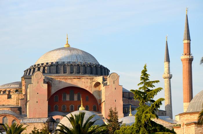 La mosquée Sainte-Sophie à Istanbul