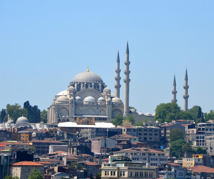 Mosquée de Soliman le magnifique à Istanbul