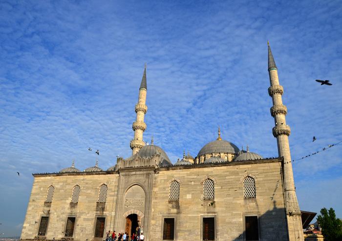 La mosquée Yeni à Istanbul