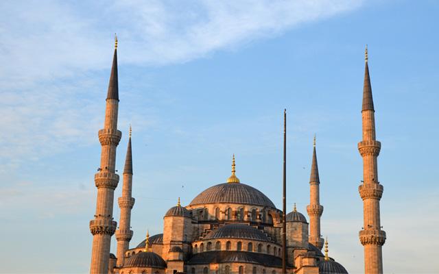 Mosquées d'Istanbul : la mosquée bleue
