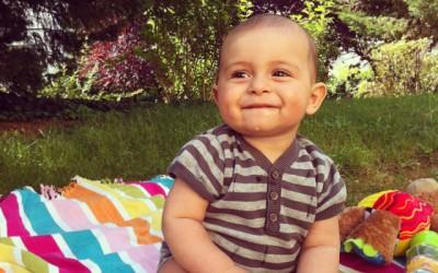 Noah 7 mois