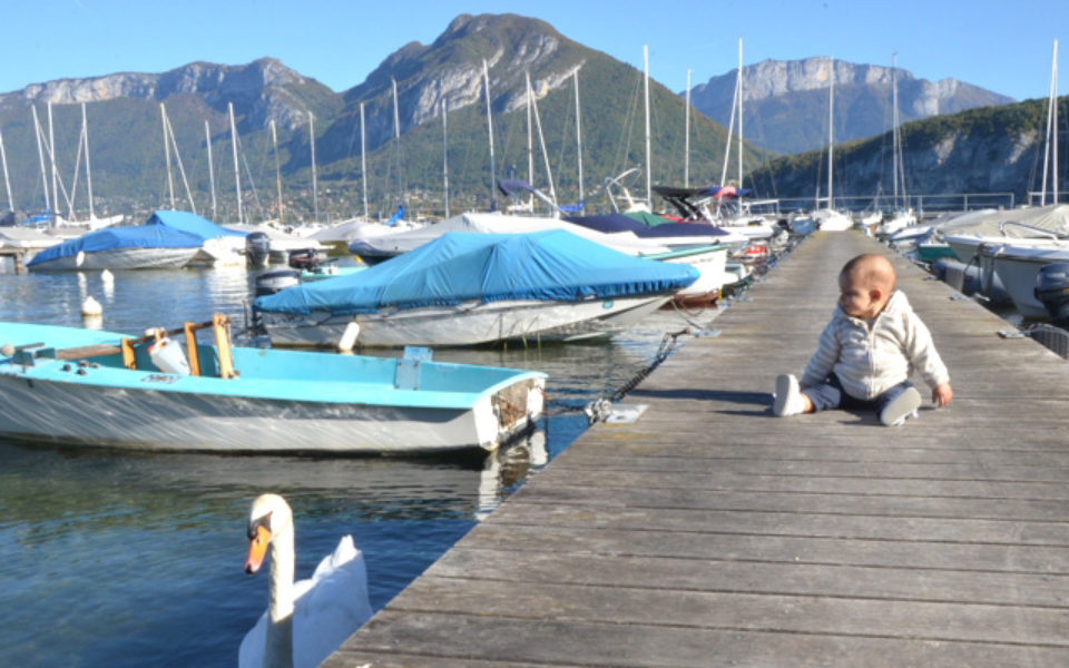 Week-end au lac d'Annecy