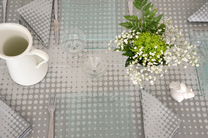 Déco de table nature chic