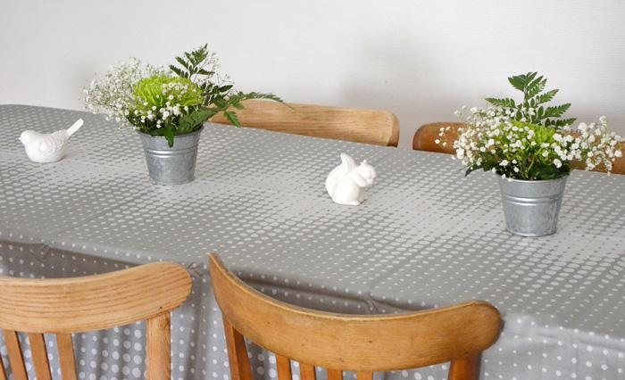 Déco de table nature campagne