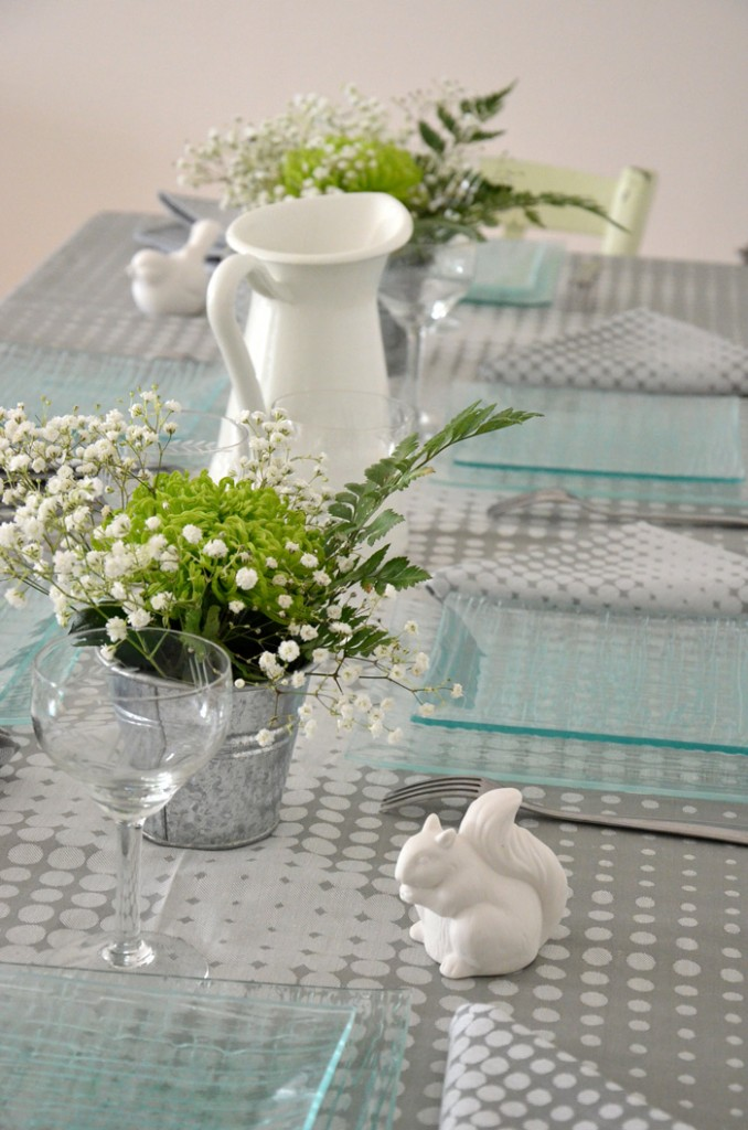 Déco de table nature chic