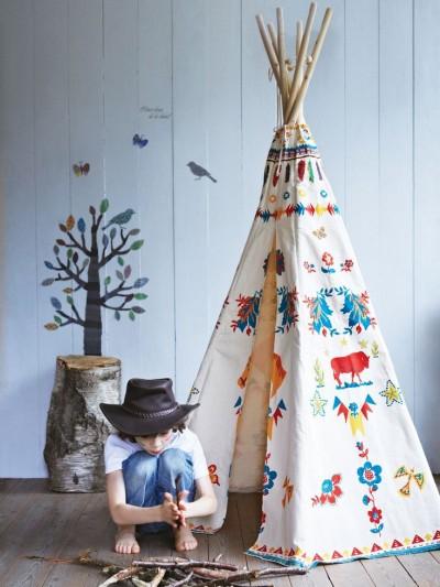 DIY : tipi pour enfant