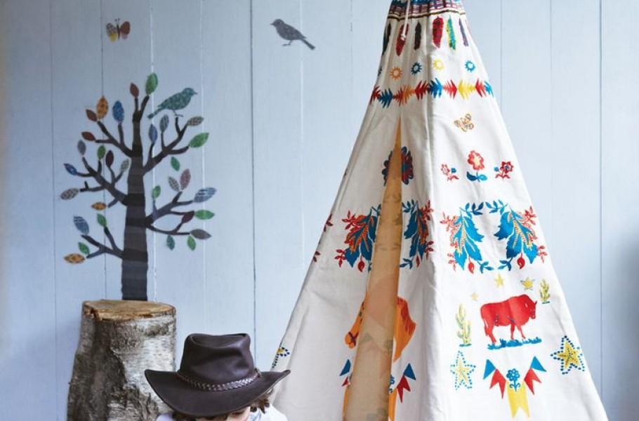 mon prochain diy le tipi pour enfant blog d co. Black Bedroom Furniture Sets. Home Design Ideas