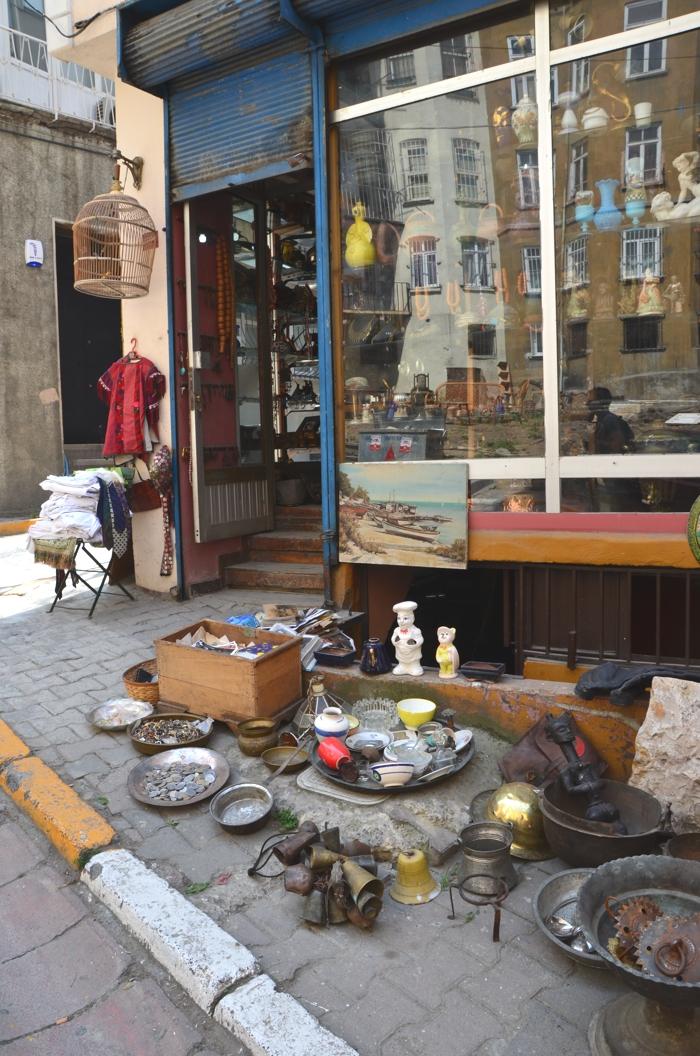 Çukurcuma, le quartier des Antiquaires à Istanbul