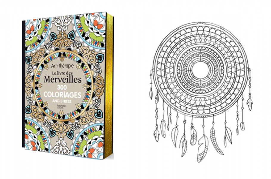 Idée cadeau : livre de coloriage