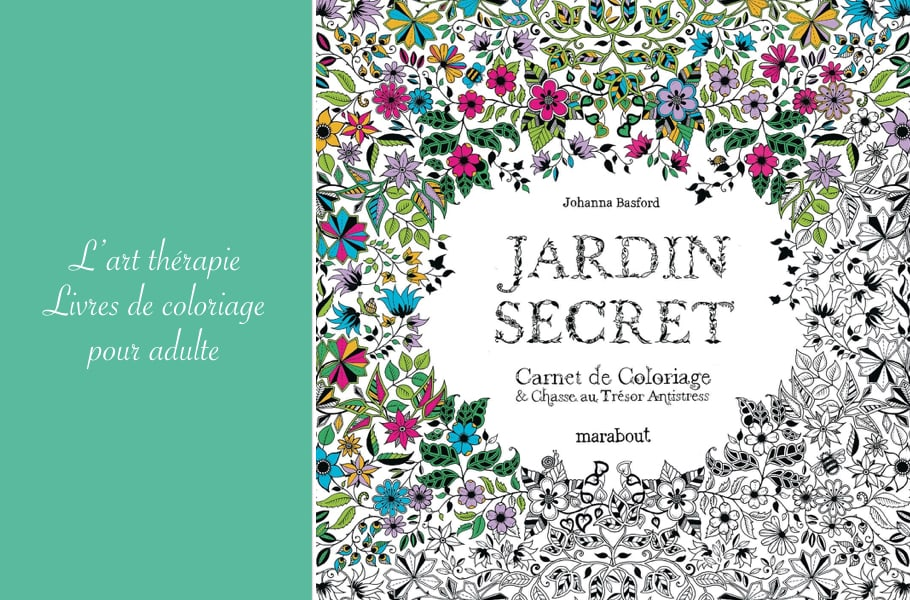 Livre coloriage adulte art therapie