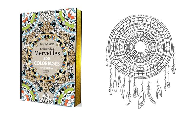 Id e cadeau les livres de coloriage mandala et anti stress pour adulte - Dessin anti stress mandala ...