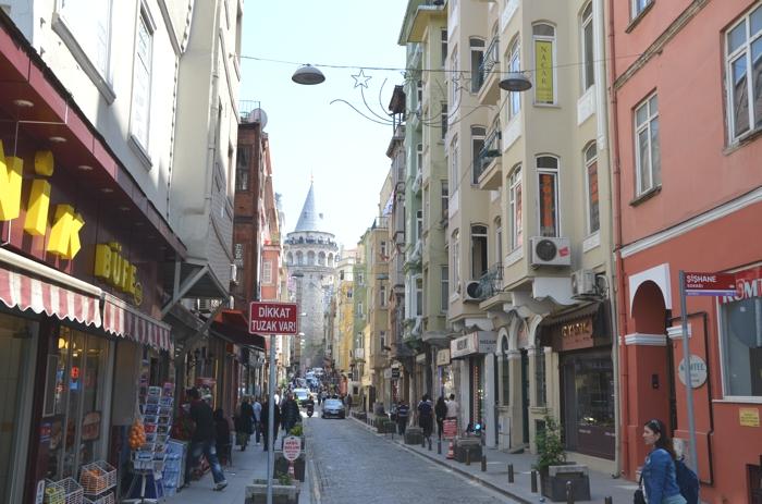 Visiter Istanbul : Beyoglu