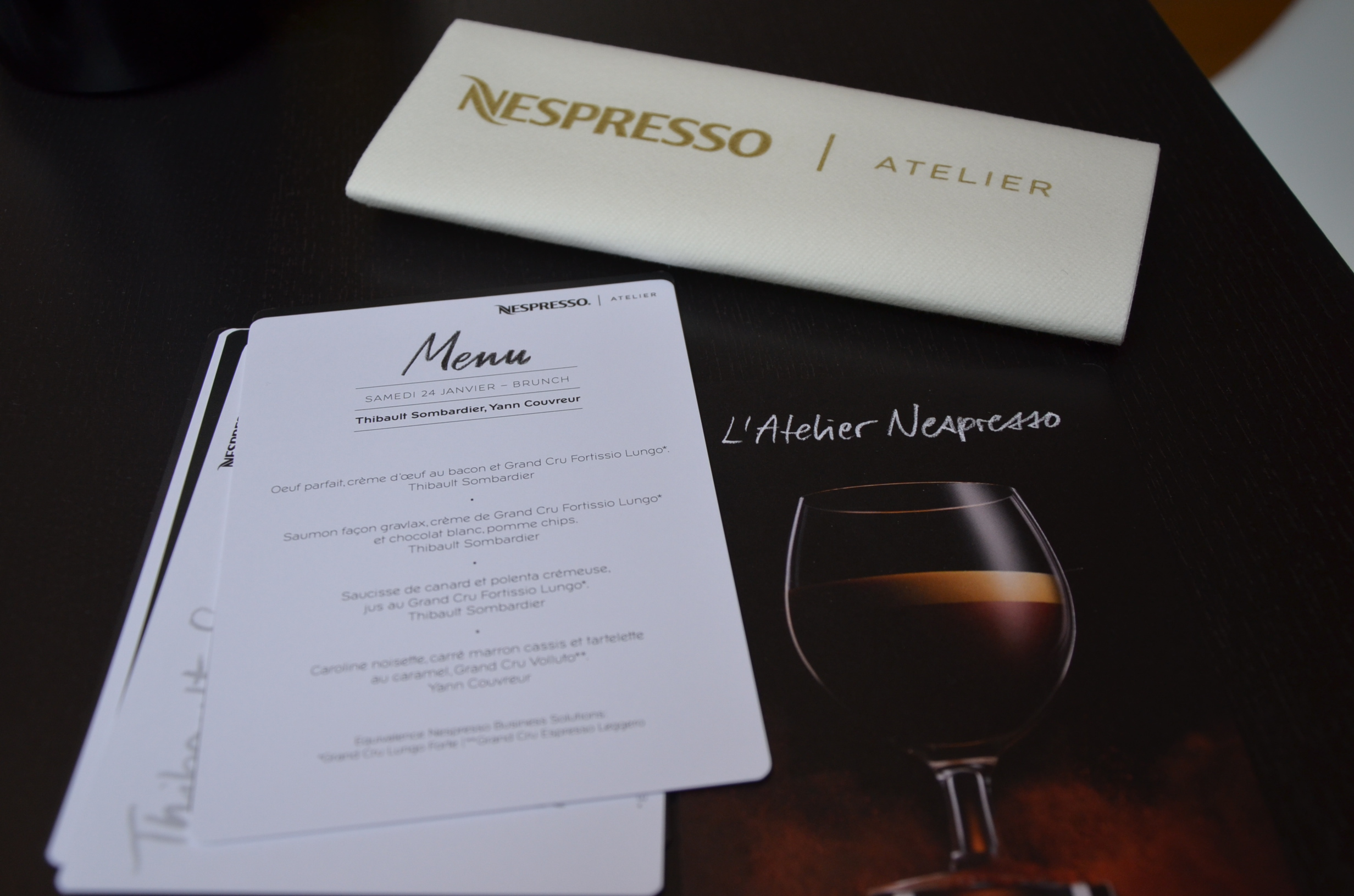 Brunch Atelier Nespresso