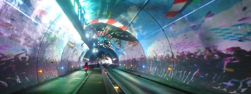Tunnel Modes doux Lyon