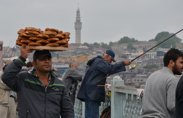 Istanbul : pont Galata